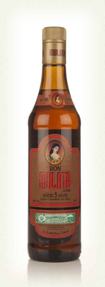 Ron Mulata 5 Year Old Anejo Rum - 70cl 38%
