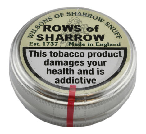 Wilsons of Sharrow - Rows Of Sharrow - Medium Tin - 10g