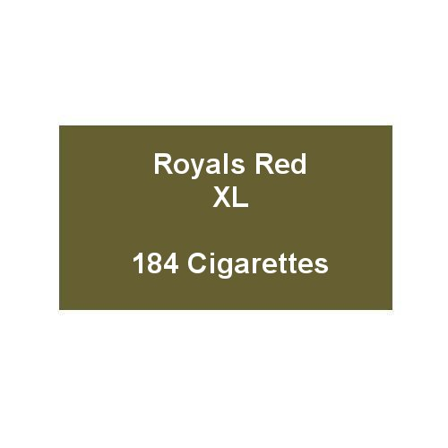 Royals Red XL - 8 Packs of 23 Cigarettes (184)