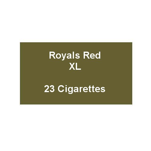 Royals Red XL - 1 Pack of 23 Cigarettes (23)