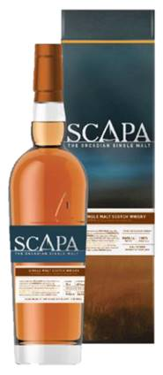 Scapa Glansa The Orcadian Single Malt Scotch Whisky - 70cl 40%