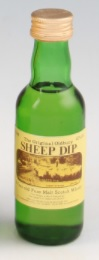 Original Oldbury Sheep Dip 8 Year Old Pure Malt Whisky Miniature - 5cl 40%