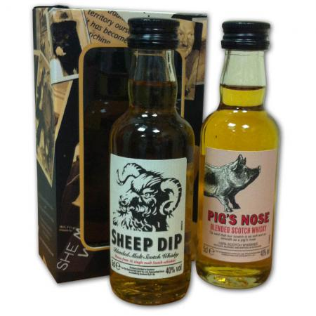 Pigs Nose & Sheeps Dip Pack - 2x5cl