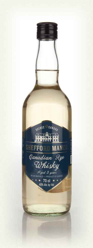 Shefford Manor 3 Year Old Canadian Rye Whisky - 70cl 40%