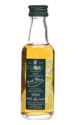 Speyburn 10 Year Old - 5cl 40%