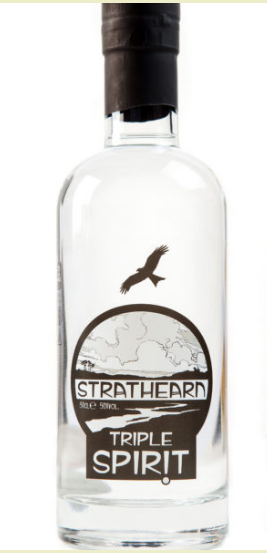 Strathearn Three Woves Triple Spirit Gin - 50cl 50%
