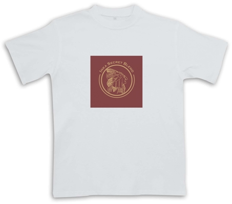 Inka T-Shirt Rojo Red Logo - White - Cigar Themed T-Shirt