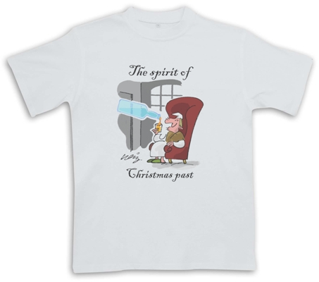 Spirit of Christmas - White - Christmas Whisky Themed T-Shirt