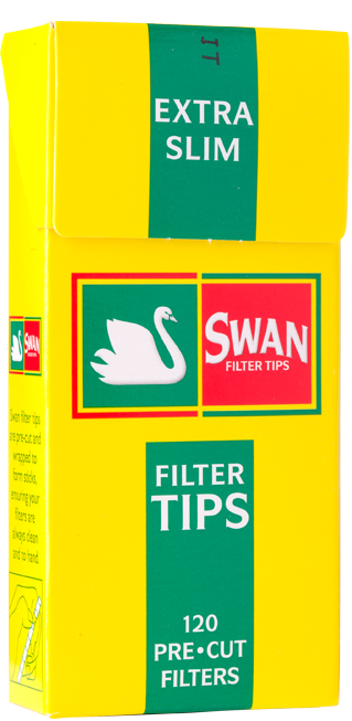 Swan Extra Slim Filters - 20 Packs