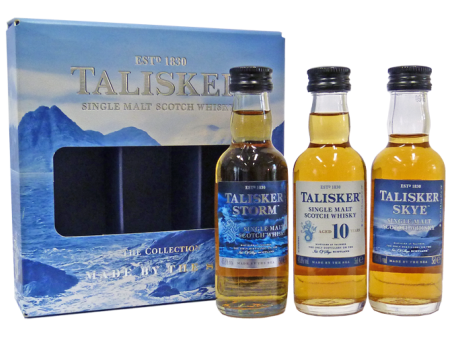 Talisker Whisky Miniature 3x5cl Gift Pack