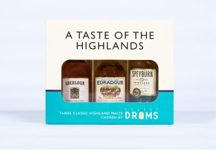 A Taste of the Highlands 3x5cl Gift Pack