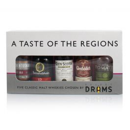 A Taste of the Regions Gift Pack 5 x 5cl