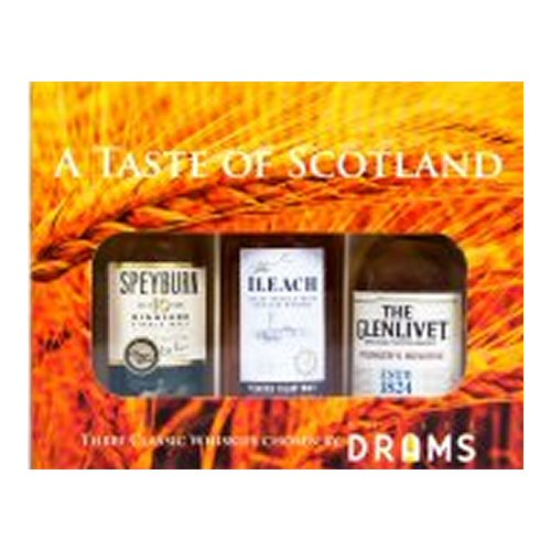 A Taste of Scotland 3 x 5cl Gift Pack