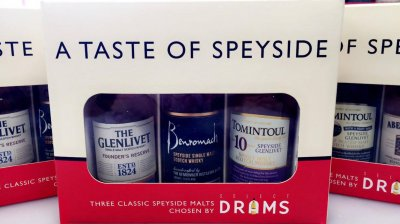 A Taste of Speyside 3x5cl Gift Pack