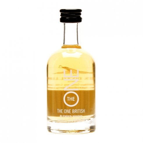 Lakes Distillery The One Miniature Blended Whisky - 5cl 40%