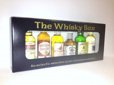 The Whisky Bar Gift Pack - 6x5cl Miniatures