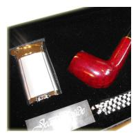 Jean Claude Premium Pipe Set – Straight Red Pipe