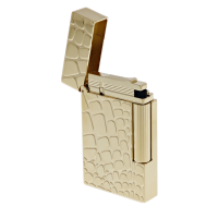 ST Dupont Lighter - Ligne 2 - Croco Dandy Yellow Gold