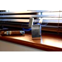 ST Dupont Lighter – Ligne 2 – Silver Vertical Lines