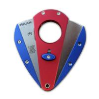 Xikar Xi 1 Cigar Cutter - Red with Blue Wings