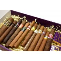 The 12 Quick Puffs of Christmas Gift Box Sampler - 12 Cigars