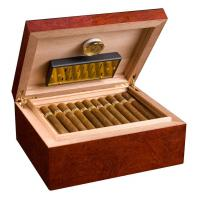 SLIGHT SECONDS Adorini Venezia Deluxe Cigar Humidor - Medium - 75 Cigar Capacity