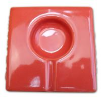 Havana Club Collection Ashtray – El Solito Cigarillo Ashtray – Red Salmon
