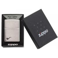 Zippo - Brushed Chrome - Windproof Pipe Lighter