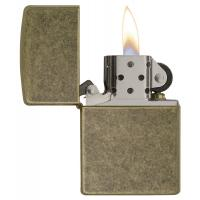 Zippo - Antique Brass - Windproof Lighter