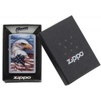 Zippo - Mazzi Brave Eagle Freedom Watch - Windproof Lighter