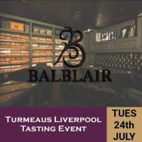Turmeaus Liverpool Whisky & Cigar Tasting Event - 24/7/18