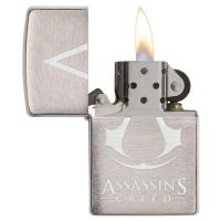 Zippo - Brushed Chrome - Assassin's Creed - Windproof Lighter
