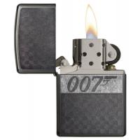 Zippo - James Bond 007 - Grey Dusk Iced - Windproof Lighter