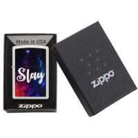 Zippo - Matte White Slay - Windproof Lighter