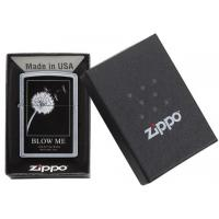 Zippo - Street Chrome Blow Me Wishes - Windproof Lighter