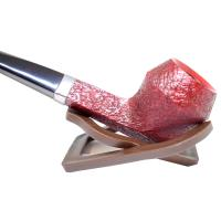 Alfred Dunhill Pipe – The White Spot Ruby Bark Group 4 Straight Pipe (4104)
