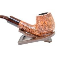 Alfred Dunhill Pipe – The White Spot County Bent Pipe (4213)
