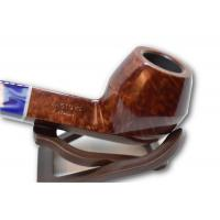 Savinelli Oceano Burgundy Smooth Straight Bulldog 510 6mm Pipe (SAV33)