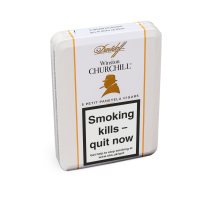 Davidoff Winston Churchill Raconteur Petit Panetela Cigar - Tin of 5