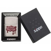 Zippo - Red Wax Seal - Brushed Chrome -  Windproof Lighter