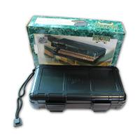 Cushioned Travel Humidor - 5 Cigar Capacity