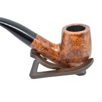 Adsorba Light Brown Smooth Billiard Full Bent Pipe