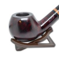 Adsorba Dark Cherry Smooth Bent Apple Bowl Pipe