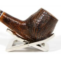 Alberto Paronelli 'Volkan Poesia Pebble Grain Strawberry Briar Pipe (ART003)