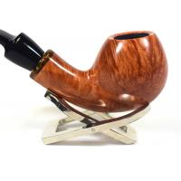 Adams Artisan By Ardor Smooth Natural 9mm Filter Swallowtail Pipe (ART158)