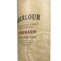Aberlour A'Bunadh No Age Cask Strength Whisky - 70cl 59.9%