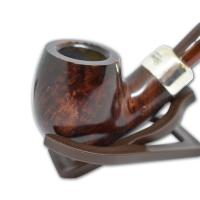Peterson Ashford Silver Mounted 221 Pipe (G1094A)