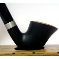 BigBen Churchwarden 800 Matte Black 9mm Filter Fishtail Pipe (BIG49)