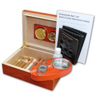 Beginner Compendium Humidor - The Starter Pack Cigar Selection