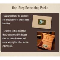 Boveda Humidor Seasoning Pack – 60 gram - 84%
